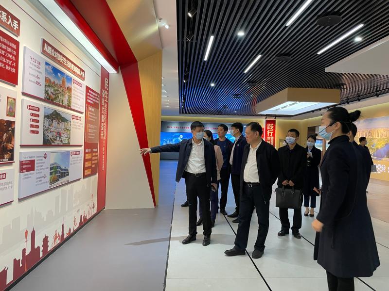 省委宣传部到晋江调研新时代文明实践工作