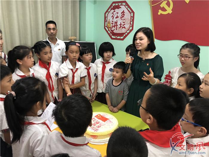 罗源县 向国旗敬礼 活动异彩纷呈